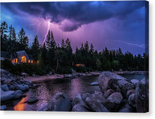 Load image into Gallery viewer, Lightning Strikes - Canvas Print