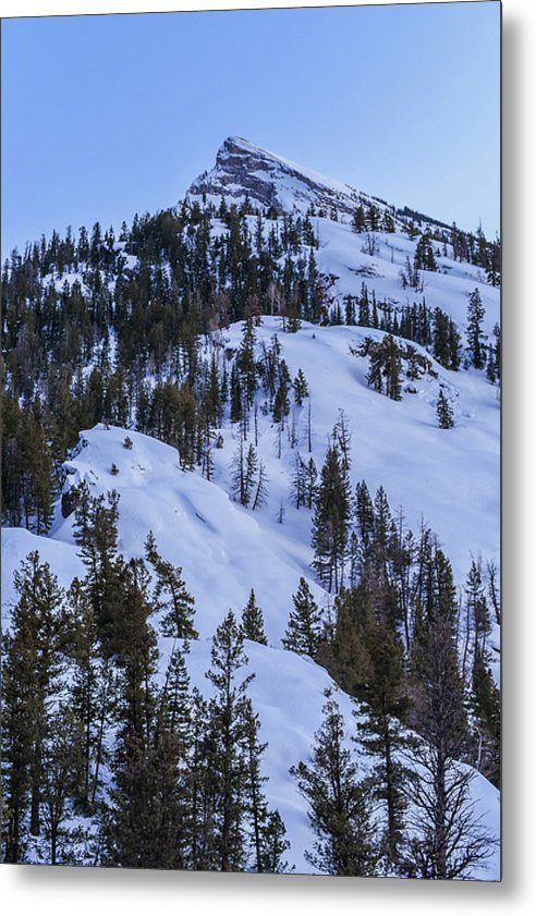 Marble Mountain - Metal Print
