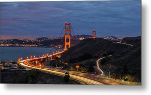 Marin Headlands - Metal Print