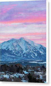 Mount Sopris - Canvas Print