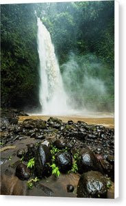 Nungnung Waterfall - Canvas Print