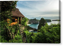 Load image into Gallery viewer, Nusa Penida Tree House - Canvas Print