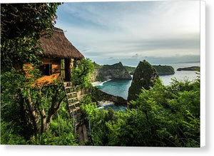 Nusa Penida Tree House - Canvas Print