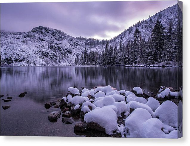 Castle Lake - Canvas Print