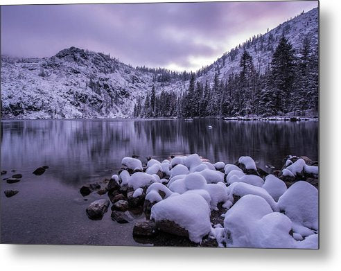 Castle Lake - Metal Print
