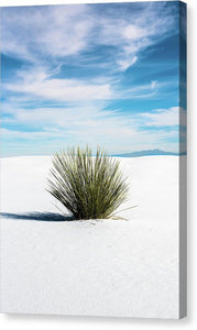 Sand Alone - Canvas Print