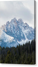 Load image into Gallery viewer, Sawtooth Mountains - Canvas Print