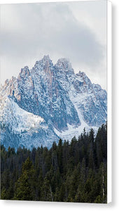 Sawtooth Mountains - Canvas Print