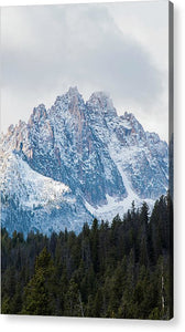 Sawtooth Mountains - Acrylic Print