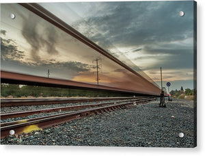 Train Tracks - Acrylic Print