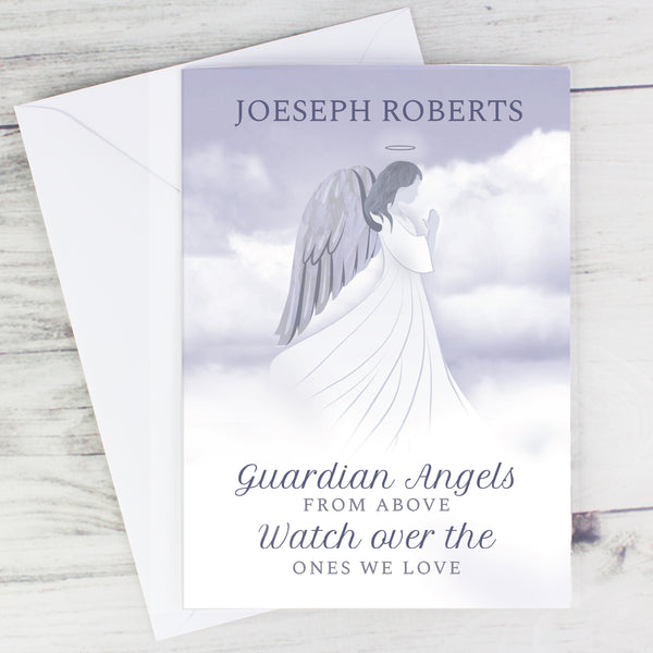 Personalised Guardian Angel Card from Sassy Bloom Gifts - alternative view