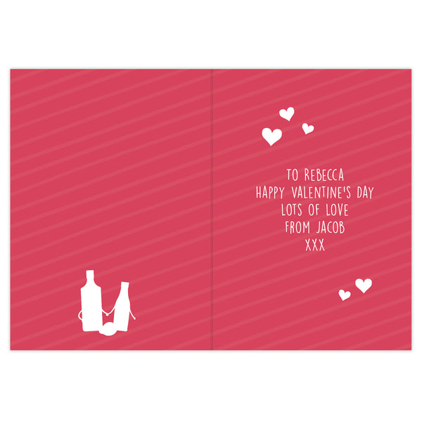 Personalised 'Gin to My Tonic' Card lifestyle image