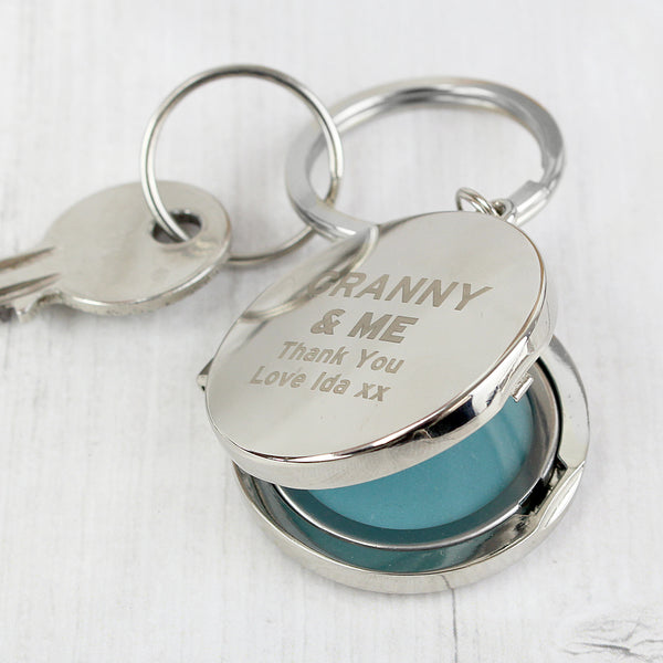 Personalised & ME Photo Keyring from Sassy Bloom Gifts - alternative view