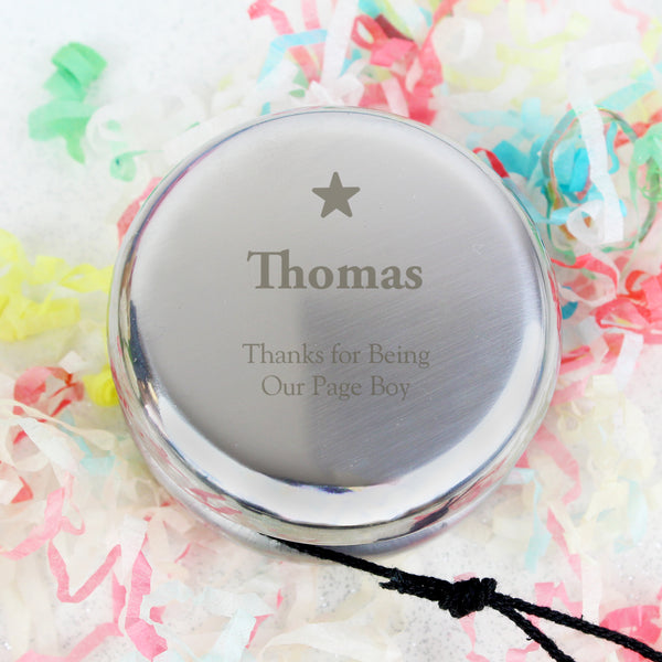 Personalised Star YOYO with personalised name