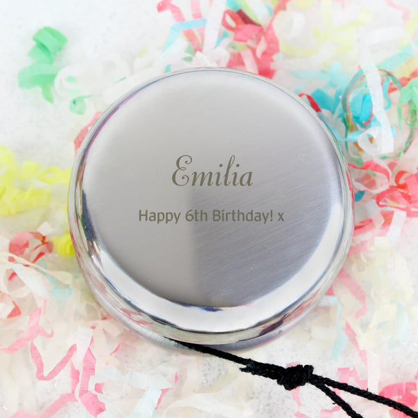 Personalised YOYO with personalised name