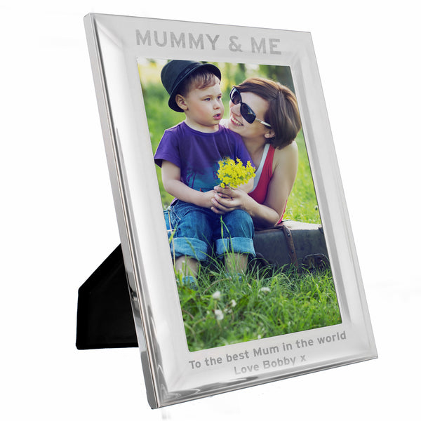Personalised & Me 5x7 Portrait Photo Frame white background