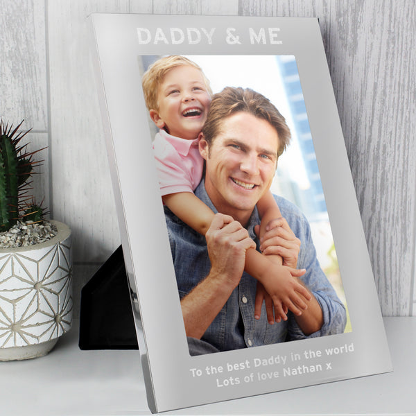 Personalised & Me 5x7 Portrait Photo Frame from Sassy Bloom Gifts - alternative view
