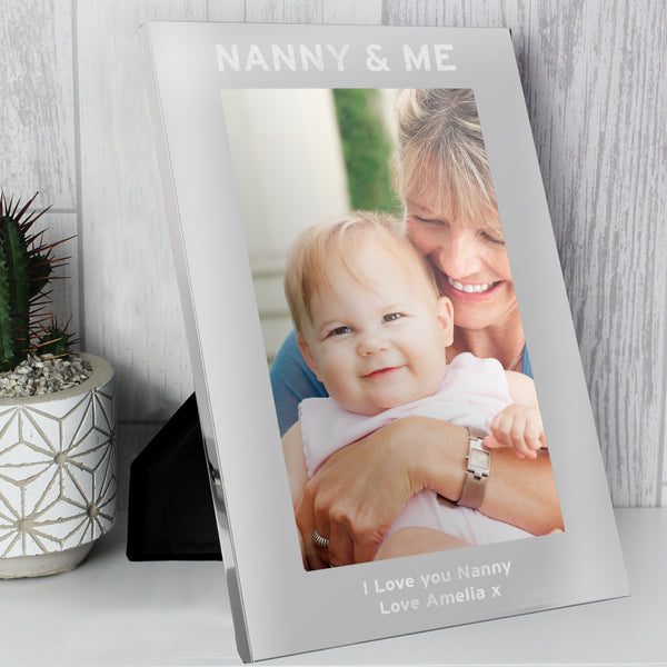 Personalised & Me 5x7 Portrait Photo Frame lifestyle image