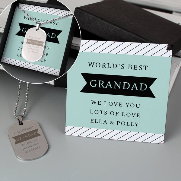 Personalised Box With Dog Tag from Sassy Bloom Gifts - alternative view