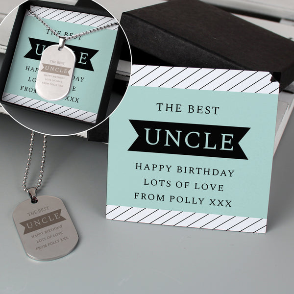Personalised Box With Dog Tag with personalised name