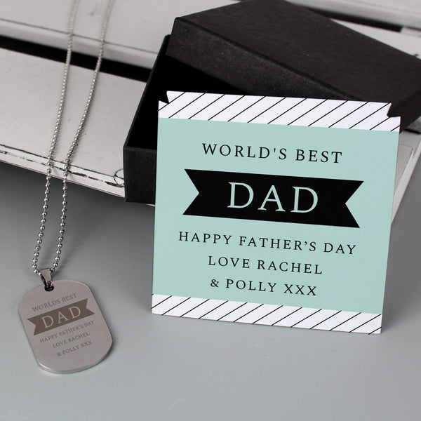 Personalised Box With Dog Tag