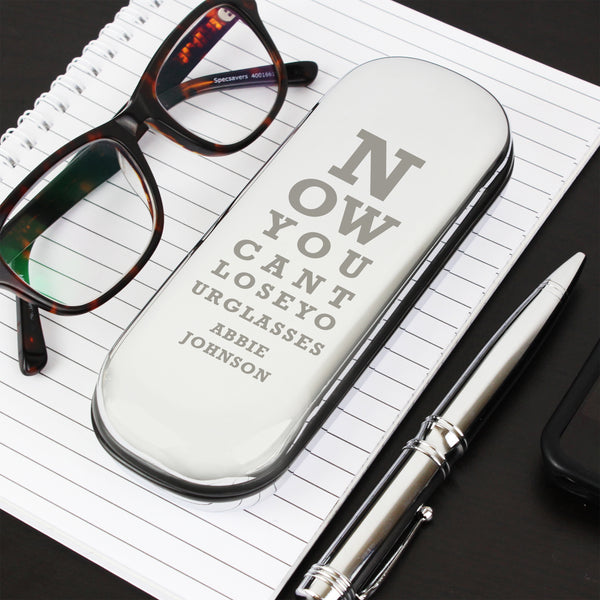Personalised Eye Exam Glasses Case from Sassy Bloom Gifts - alternative view