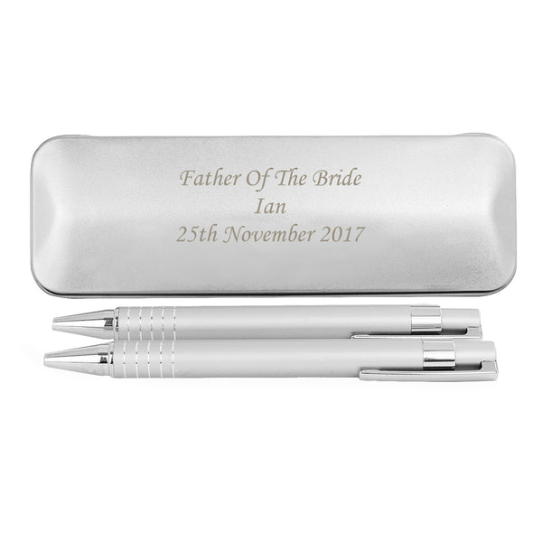 Personalised 2 Pen Box Set with personalised name