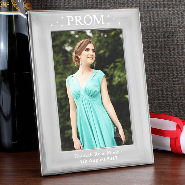 Personalised Prom Night Silver 6x4 Photo Frame from Sassy Bloom Gifts - alternative view