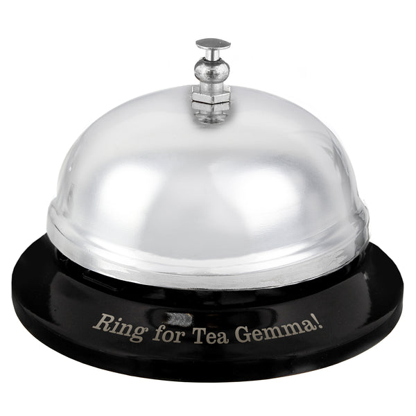 Personalised Service Bell white background