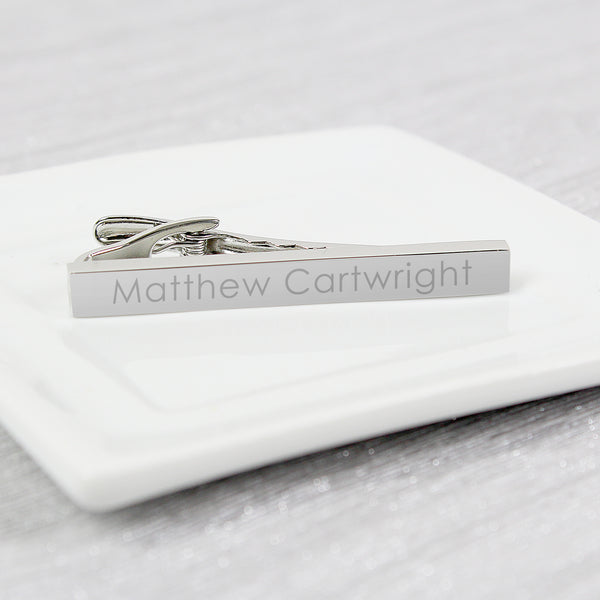 Personalised Tie Clip from Sassy Bloom Gifts - alternative view