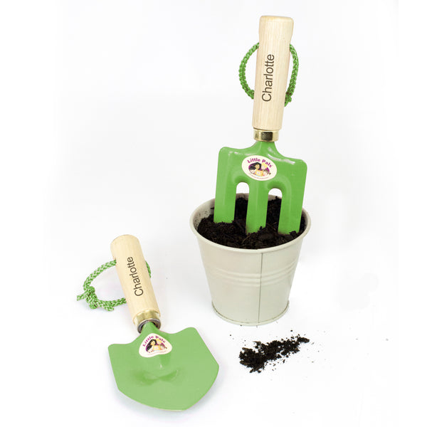 Personalised Girls Gardening Tool Kit from Sassy Bloom Gifts - alternative view