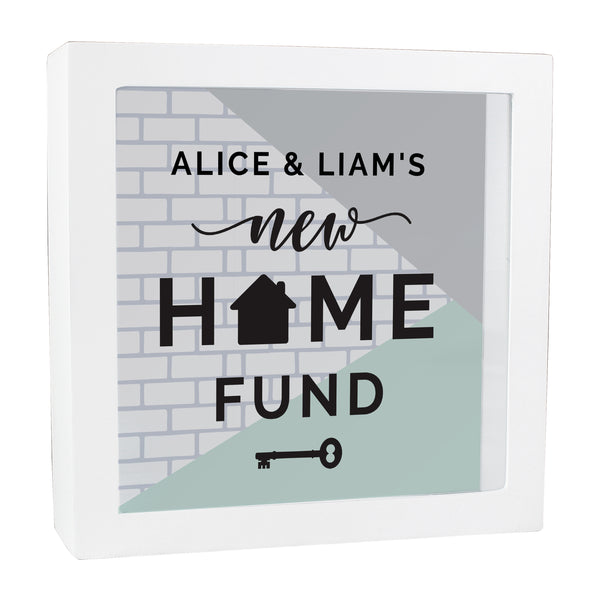 Personalised New Home Fund Box white background