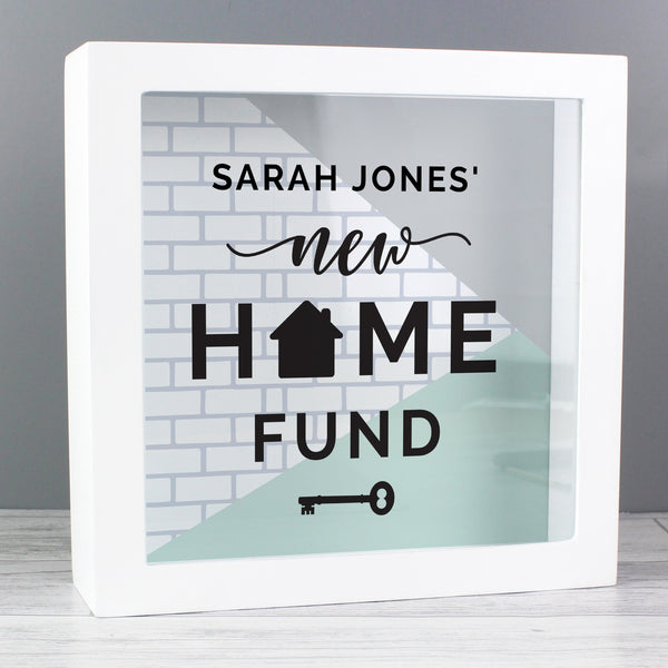 Personalised New Home Fund Box from Sassy Bloom Gifts - alternative view