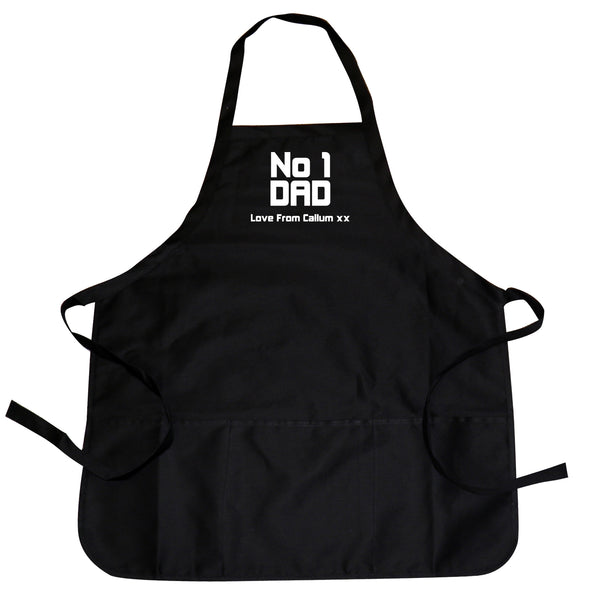 Personalised No1 Dad Apron from Sassy Bloom Gifts - alternative view