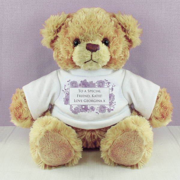 Personalised Soft Watercolour Teddy lifestyle image