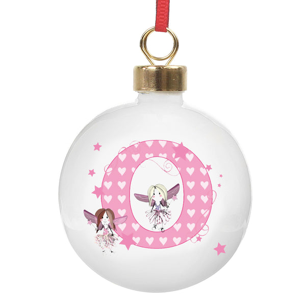Personalised Fairy Bauble with personalised name