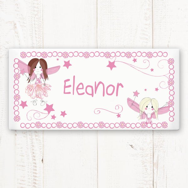 Personalised Fairy Letter Door Plaque from Sassy Bloom Gifts - alternative view