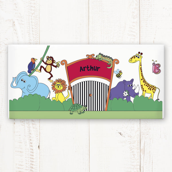 Personalised Zoo Door Plaque from Sassy Bloom Gifts - alternative view