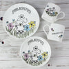 Personalised Farmyard Cow Breakfast Set