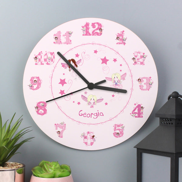Personalised Fairy Clock from Sassy Bloom Gifts - alternative view