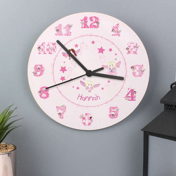 Personalised Fairy Clock lifestyle image