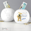 Personalised Boofle Boys Wedding Money Box