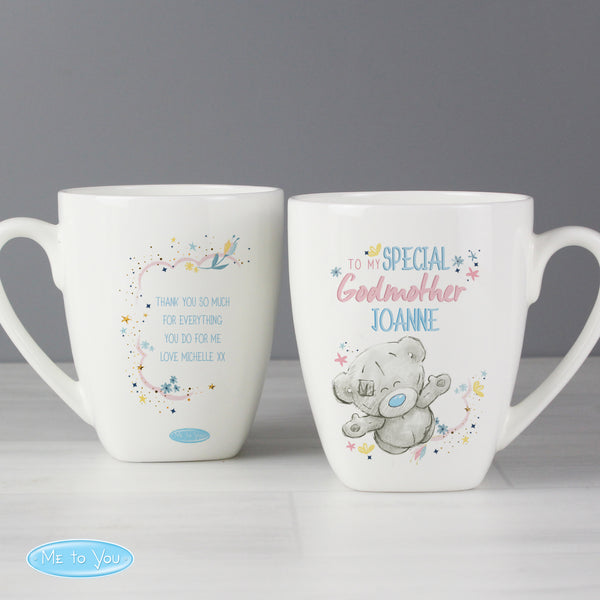Personalised Me to You Godmother Latte Mug from Sassy Bloom Gifts - alternative view