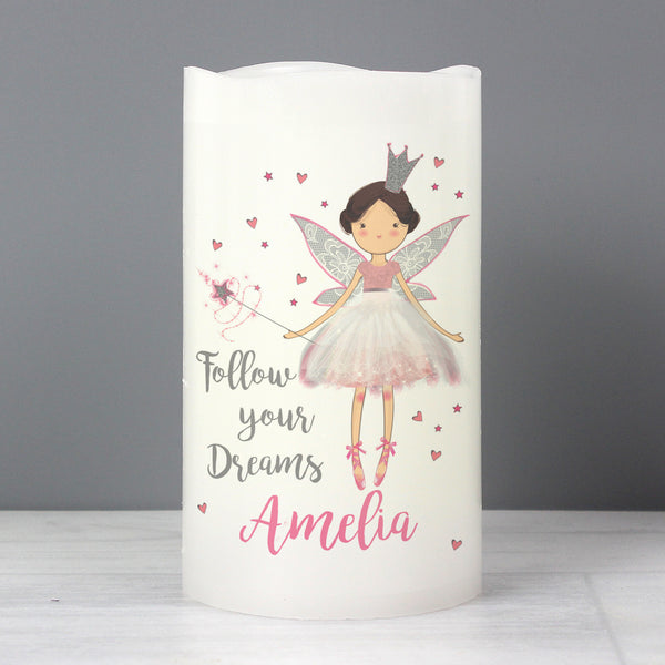 Personalised Fairy Princess Nightlight LED  Candle from Sassy Bloom Gifts - alternative view