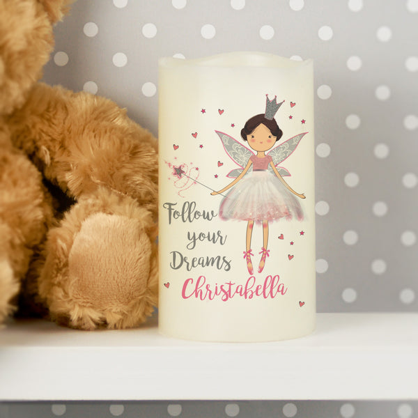 Personalised Fairy Princess Nightlight LED  Candle lifestyle image