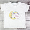 Personalised Baby Unicorn T shirt 1-2 Years