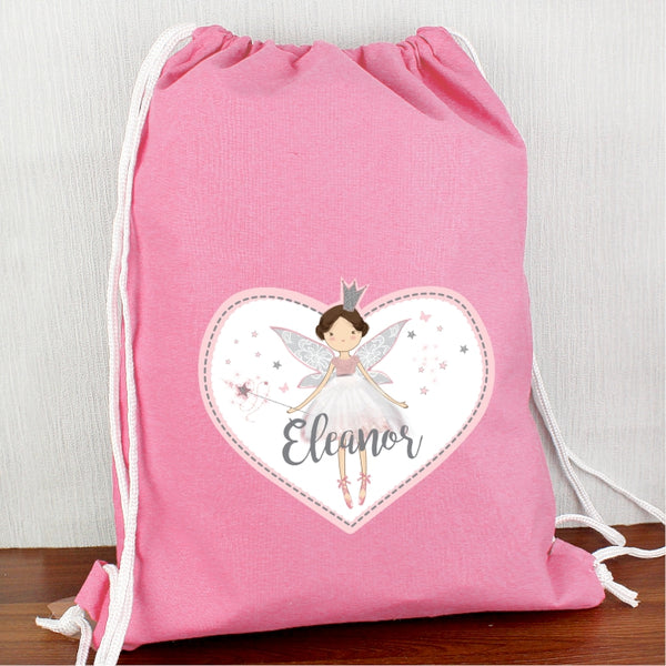 Personalised Fairy Princess Swim & Kit Bag from Sassy Bloom Gifts - alternative view