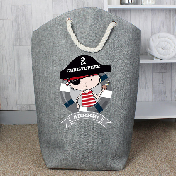 Personalised Pirate Storage Bag from Sassy Bloom Gifts - alternative view