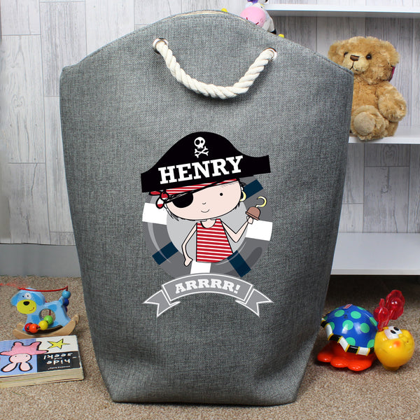 Personalised Pirate Storage Bag lifestyle image
