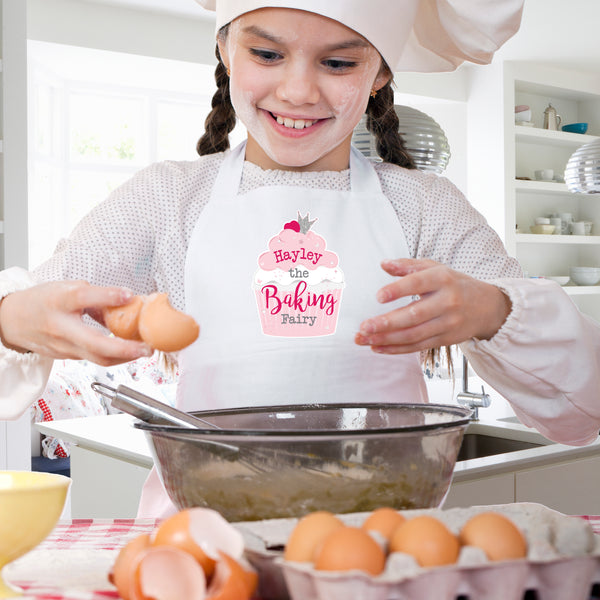 Personalised Baking Fairy Children's Apron from Sassy Bloom Gifts - alternative view